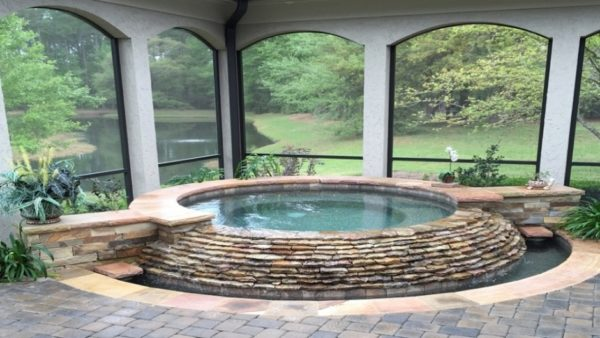 21 Holly Grove - Spa by Camp Pool Builders