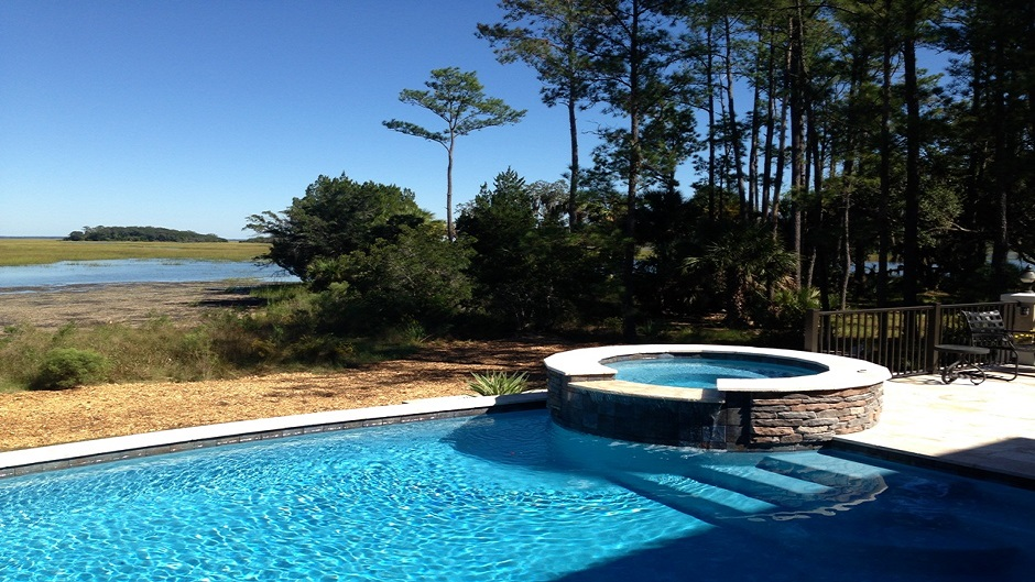 Camp pool builders new pool construction in hilton head for New pool construction