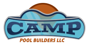 Camp Pool Builders 843.683.2862 Logo