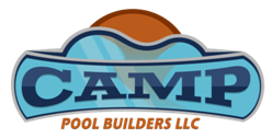 Camp Pool Builders 843.683.2862 Sticky Logo